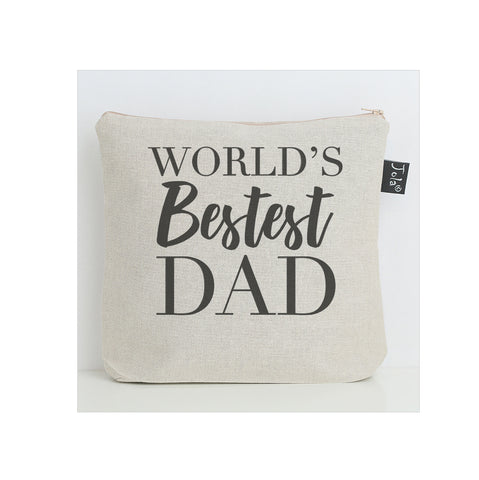 Worlds Bestest Dad wash bag
