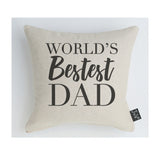 Worlds Bestest Dad Cushion