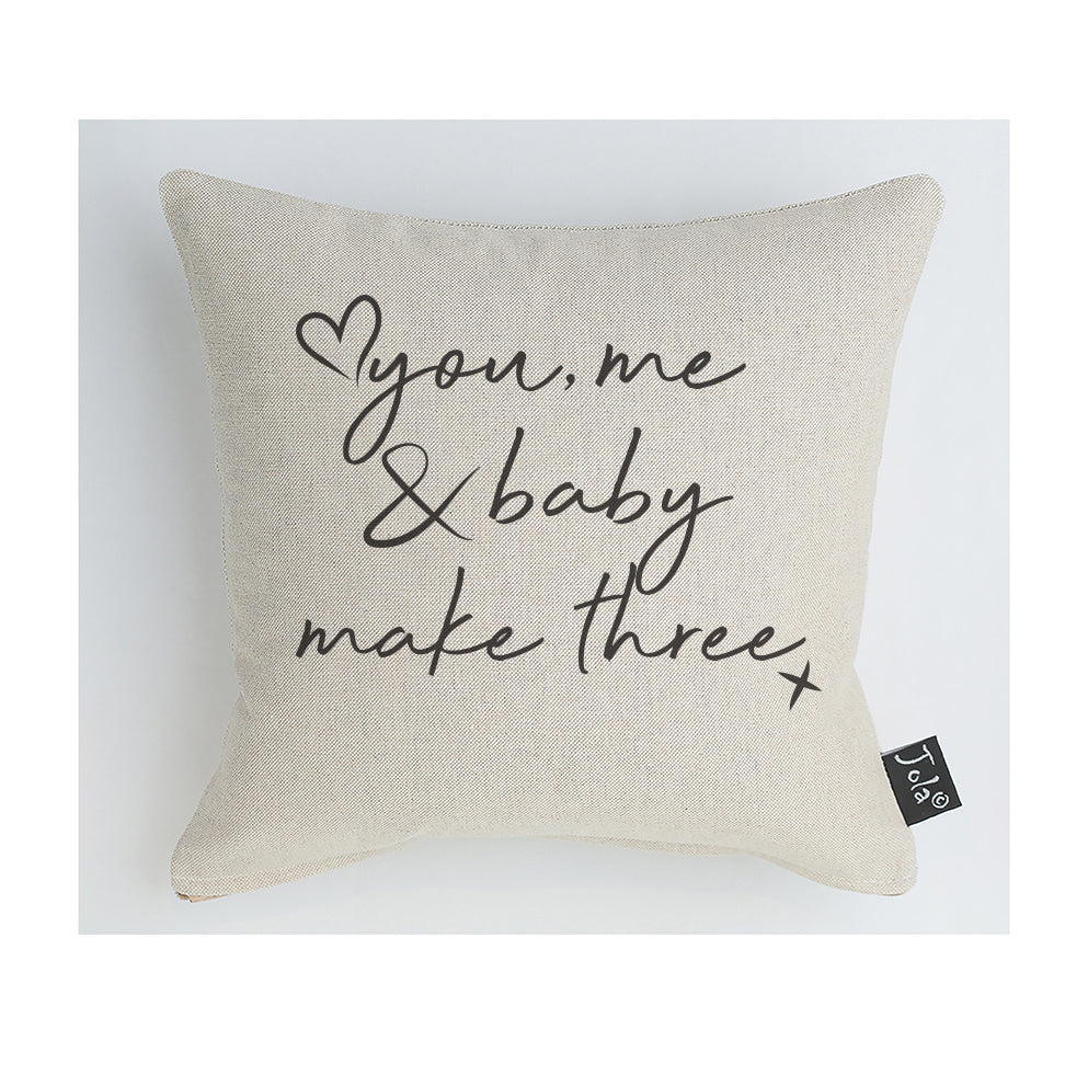 You Me & Baby Cushion