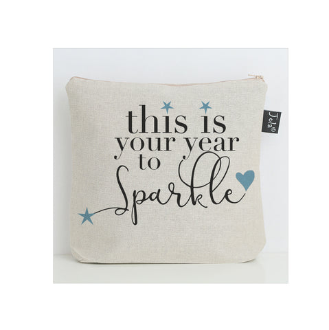 Your year to Sparkle Wash Bag