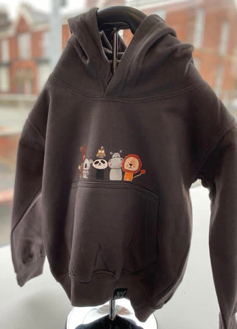 The Wild Bunch Toddler Hoodie