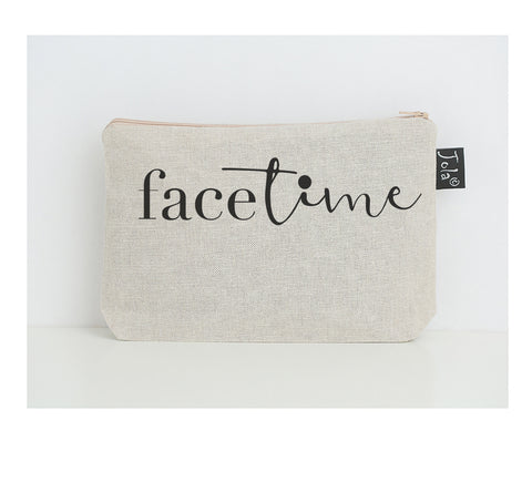 Face Time small make up bag