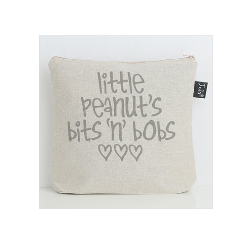 Little Peanut's bits 'n' bobs nappy bag