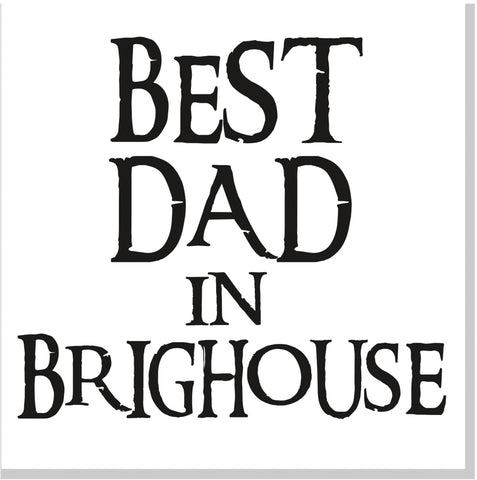 Best Dad City square card font 10