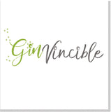 Ginvincible square card
