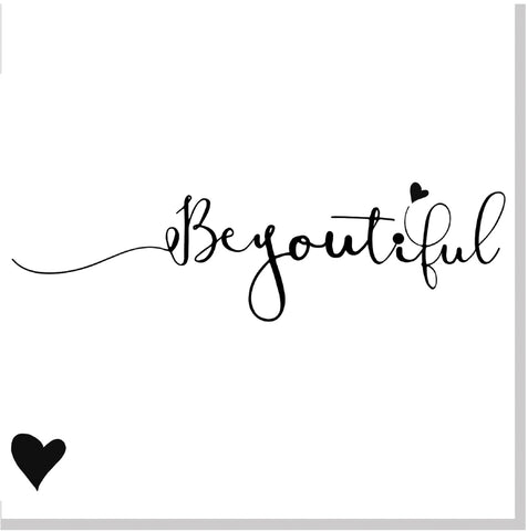 BeYOUtiful square card