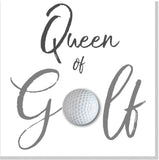 Queen of Golf square card