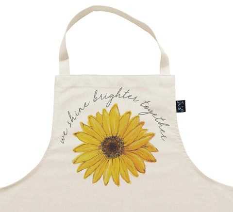 We Shine Brighter Together ECH Apron