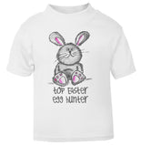 Cute top easter egg hunter Toddler T Shirt
