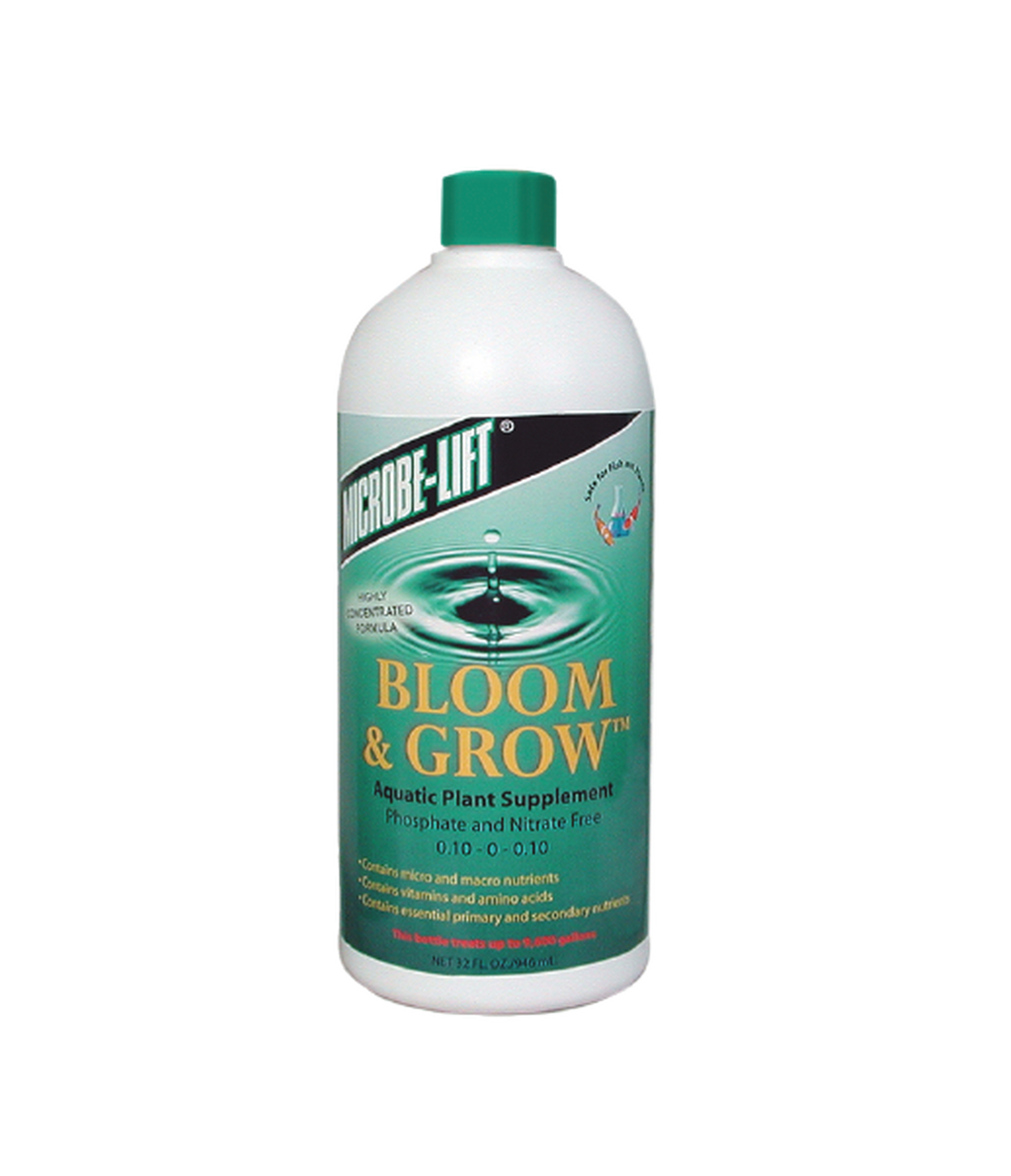 Bloom & Grow Aquatic Plant Supplement Phosphate Free 0.10-0-0.10 - 32 ounce