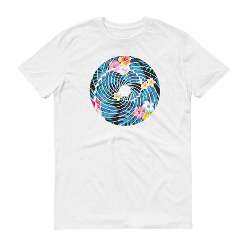 Trippy Blue Hawaiian T-Shirt