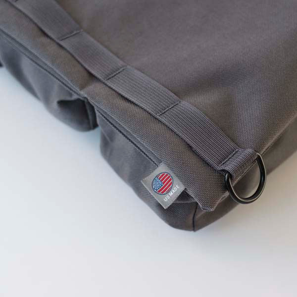 LUSB154 Grey Half Caddy with US Made Label Detail