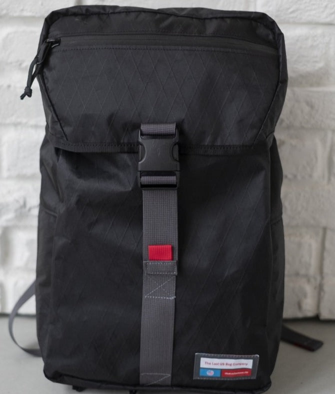 LUSB242 Black Rooftop Pannier Front Side View