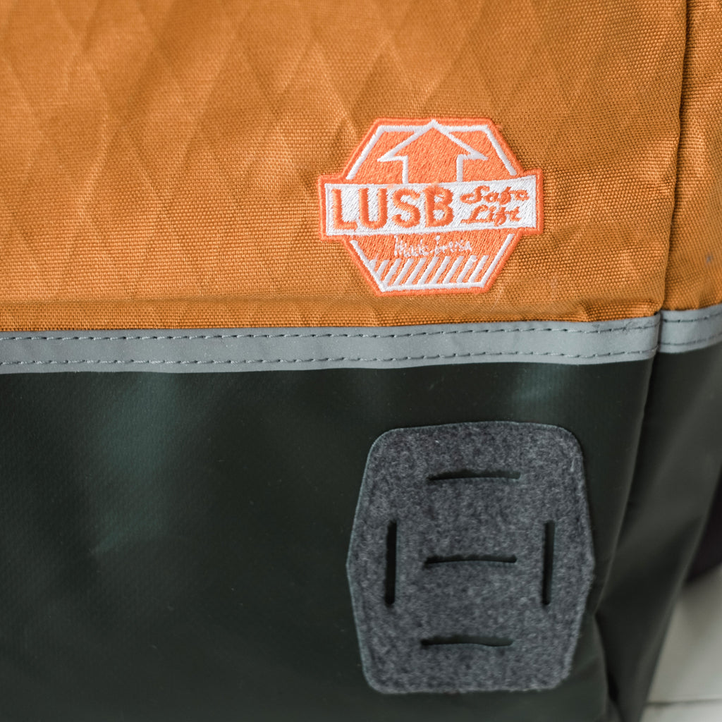 LUSB132HV Limited Edition Roll Top Back Pack in Harvest