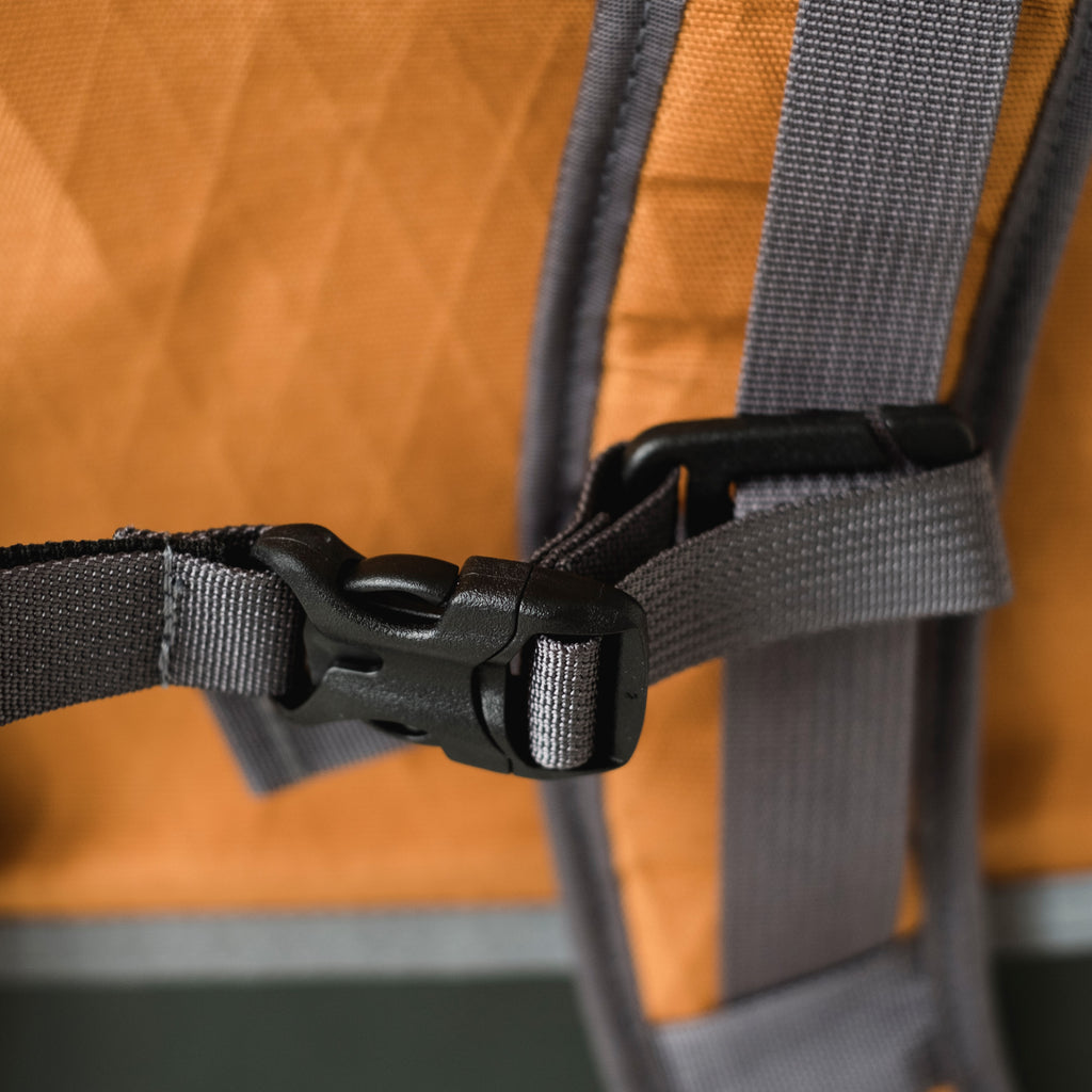 LUSB132HV Limited Edition Roll Top Back Pack in Harvest Buckle