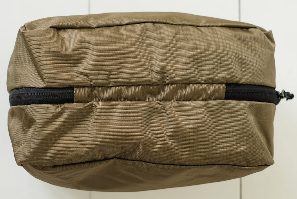 LUSB198 Coyote Small Nylon Storage Cube Top View