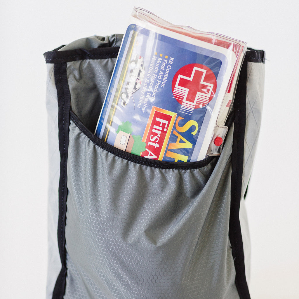 LUSB171 Ultralight Day Pack Interior Pocket Sleeve with First Aid Kit