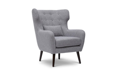 Ava Mid Century Modern Accent Chair - Blue
