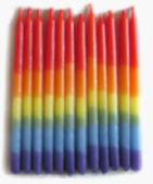 Best Selling Rainbow birthday candles