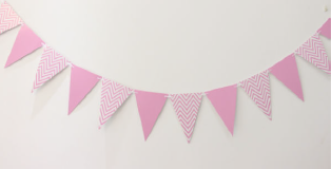 Pink Party Banner