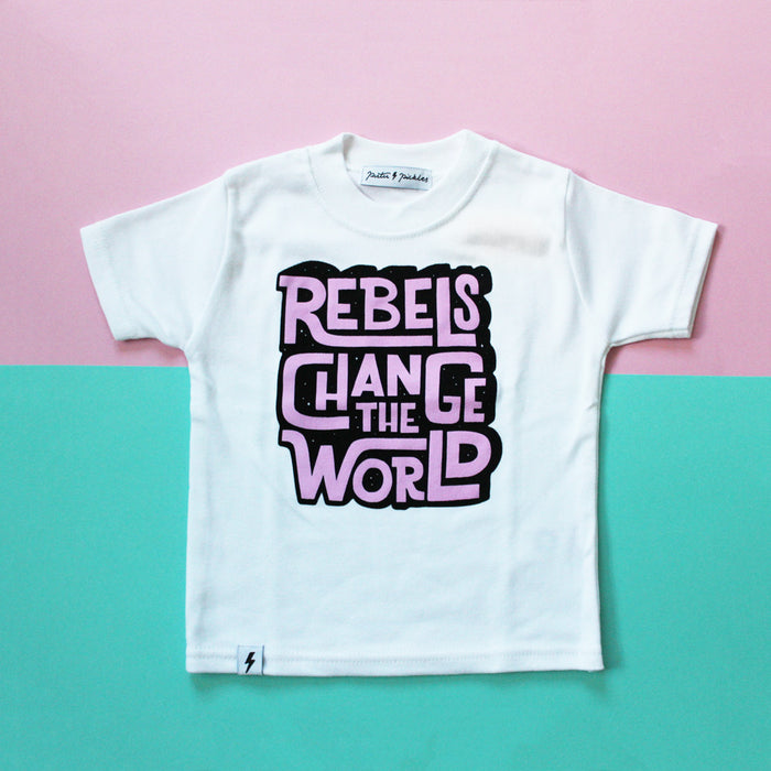 Rebels Change The World Organic Tee