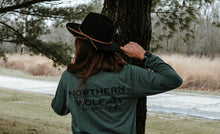 MN Wolf Long Sleeve - Heather Forest