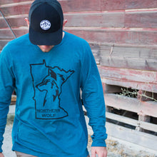 MN Wolf Long Sleeve - Superior Blue