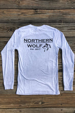 MN Wolf Long Sleeve - Ash White