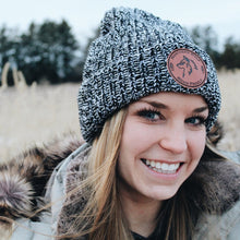 North Woods Beanie - Black & Natural