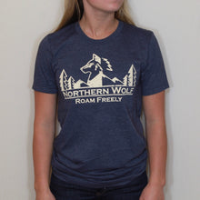 Classic Tee- Heather Navy