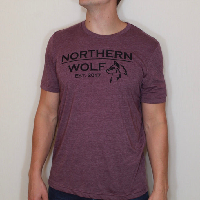 Minnesota Tee- Heather Maroon