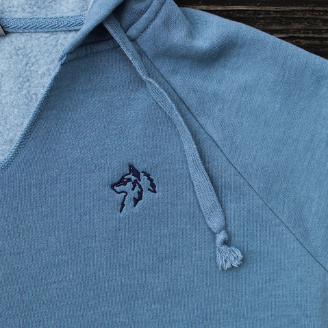 Women's Cabin Hoodie - Weathered Blue