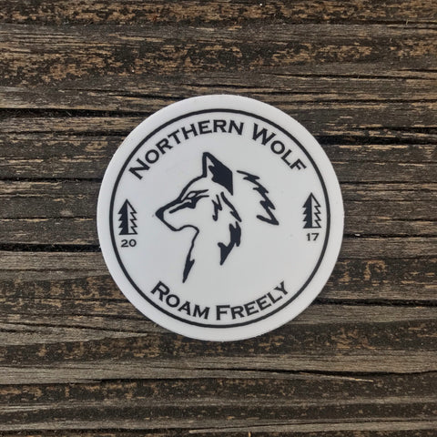Northern Wolf Sticker 3-Pack