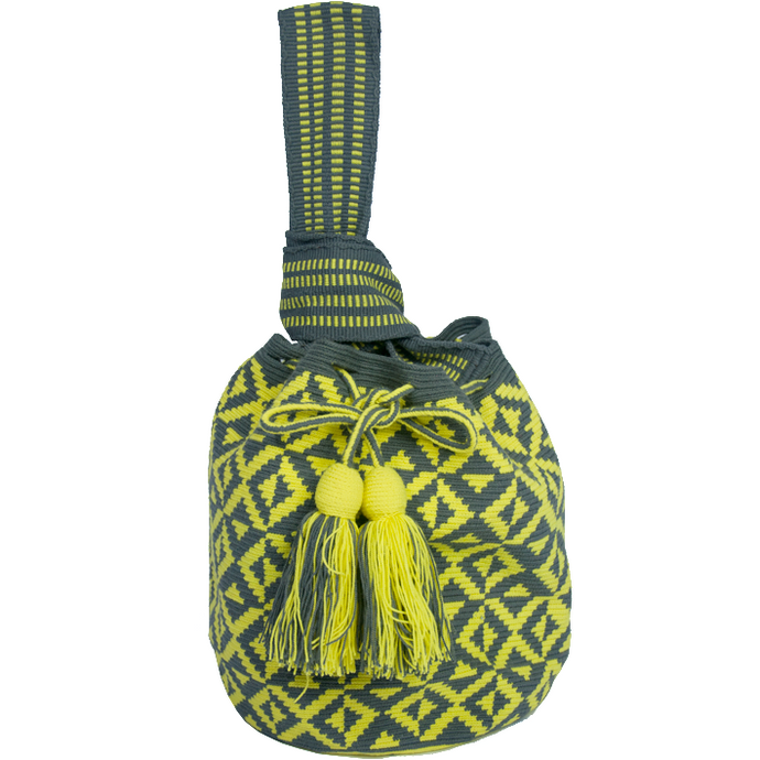 Lemon Crocheted Bag - MãeAzul
