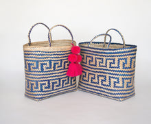 Azure Straw Tote - Back in stock! - MãeAzul