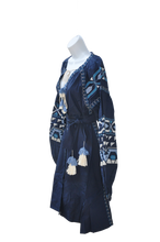 Geo Embroidered Tunic Dress - MãeAzul
