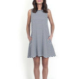JANE HUDSON Jennings Sleeveless Swing Dress