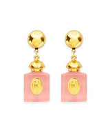 Candy Shop Vintage Resin Perfume Pendant Earrings