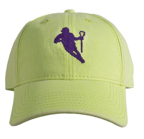 Lacorsse on Neon Green hat