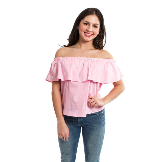 CAROLINA CLOTHING CO - SULLIVANS RUFFLE TOP
