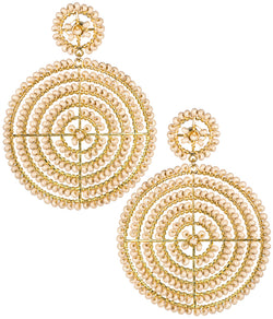 Lisi Lerch & Disk Earrings