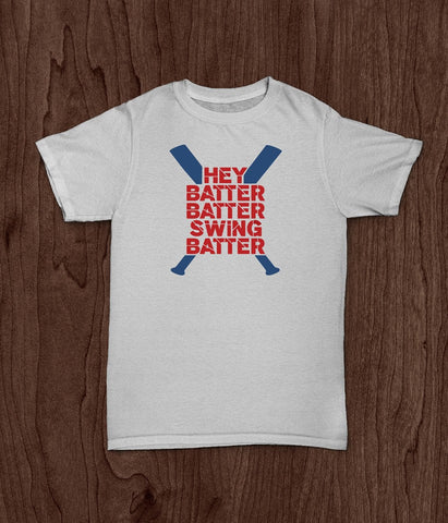 Baseball T Shirt, Hey Batter Batter, Softball T Shirt, Youth T Shirt, Toddler Shirt - Living Word Designs, Inspirational Home Decor