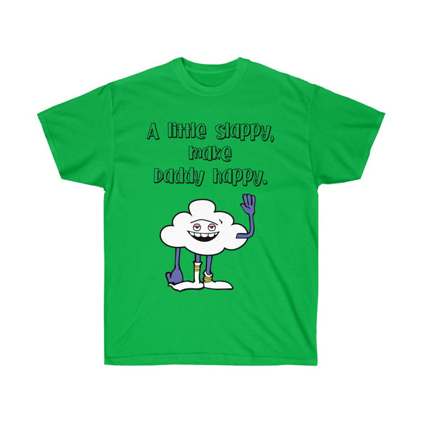 Dad T Shirt, A Little Slappy, Make Daddy Happy, Trolls T Shirt