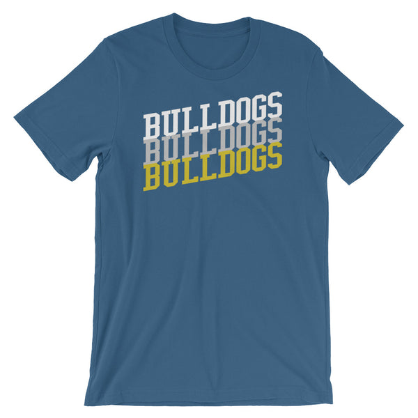 Bulldogs Football / Basketball Fan T Shirt - Living Word Designs, Inspirational Home Decor