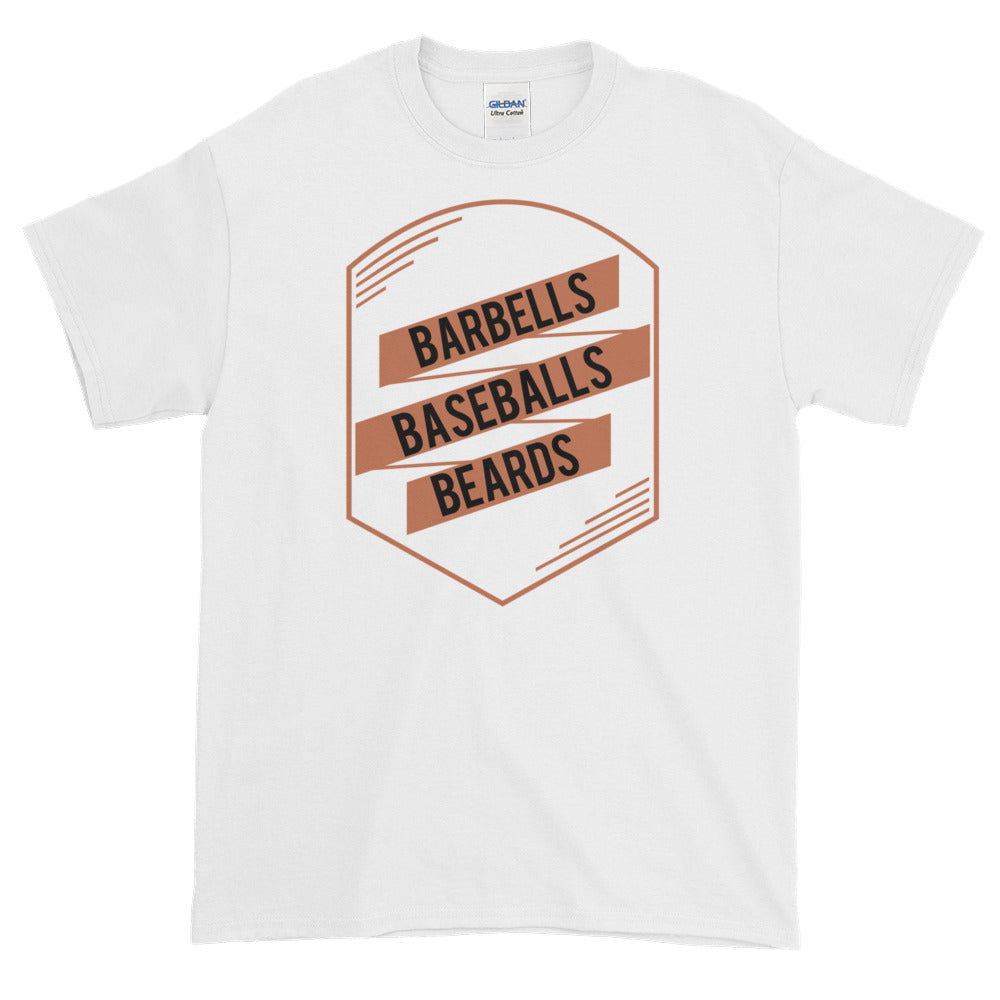 Barbells, Baseballs, Beards, Favorite Guy Things T Shirt