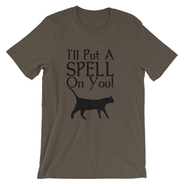 I'll Put A Spell On You, Halloween T Shirt - Living Word Designs, Inspirational Home Decor