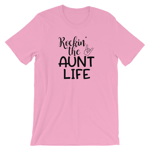 Rockin the Aunt Life, Funny Women T Shirt, Aunt T Shirt - Living Word Designs, Inspirational Home Decor