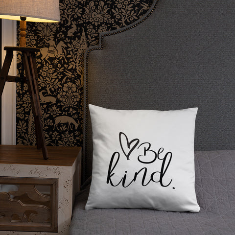 Be Kind Inspirational Throw Pillow - Living Word Designs, Inspirational Home Decor