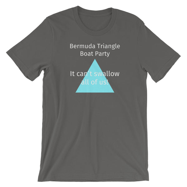 Bermuda Triangle Boat Party Funny T Shirt
