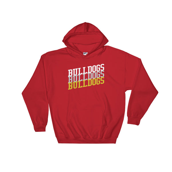 Bulldogs Football / Basketball Fan Hoodie Sweatshirt - Living Word Designs, Inspirational Home Decor